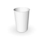 Бумажный стаканчик белый
